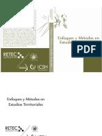 Enfoques y Metodos en Estudios Territoriales