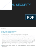 Human Security Ppt