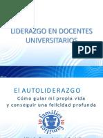 Liderazgo en Docentes Universitarios