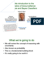 Elementary Probability and Naive Bayes Classifiers
