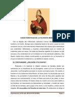 Carácterísticas de La Filosofía Medieval (2)