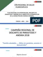 Campaña Descarte de Anemia y Parasitosis