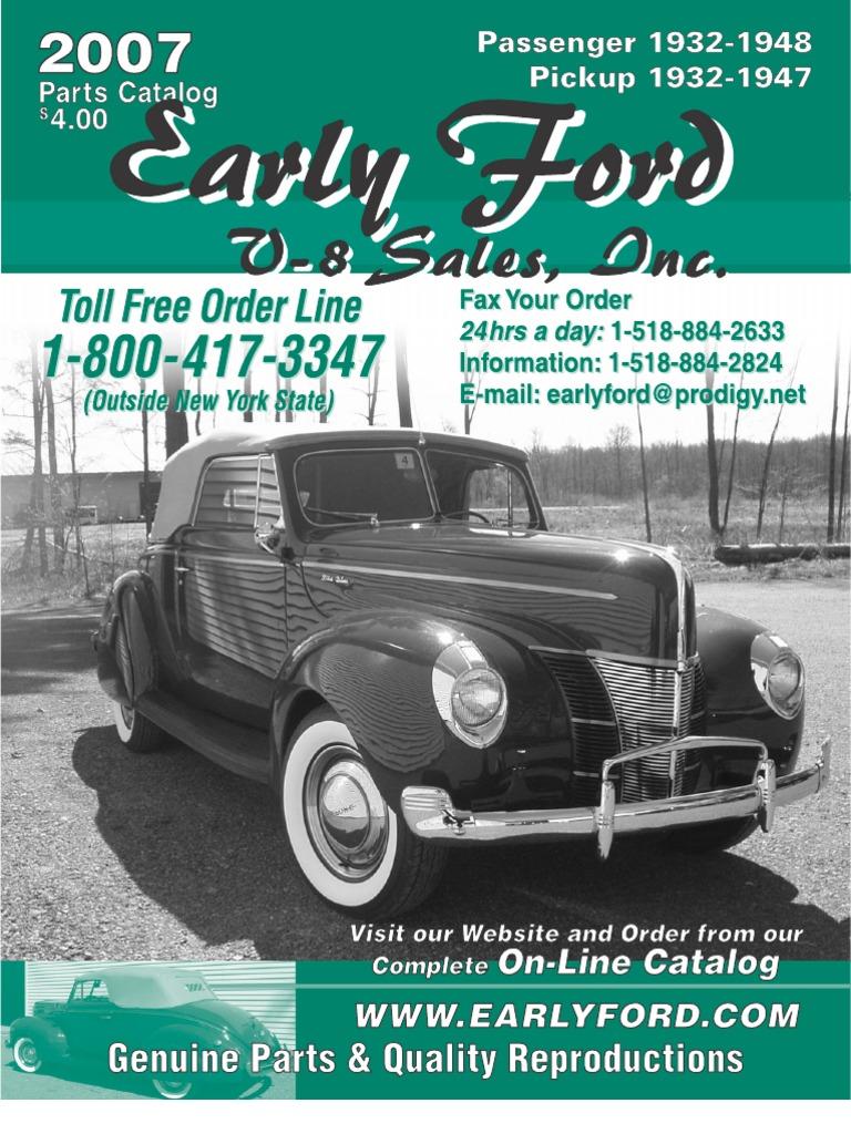 Left Hand Side 1932-34 Ford Pickup Door Latch