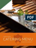 Princeton University Catering Menu