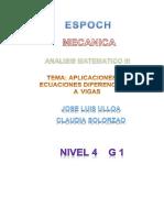 76964007 Ecuaciones Diferenciales Para Vigas Columnas