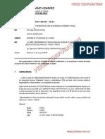 Informe Situacional Desague Pluvial - Huayllay