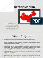 China - Agri Financial Scenario