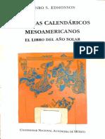 EDMONSON, M. 1995. Sistemas Calendáricos Mesoamericanos. El Libro del Año Solar.pdf