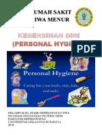 Lembar Balik Personal Hygiene
