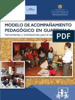 Modelo de Acompañamiento Pedagógico en Guatemala. Final