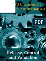 ITIL V3 Release, Control and Validation