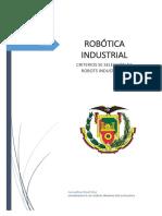 Seleccion de Robots