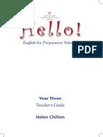 Teachers Guide Prep Three 2018