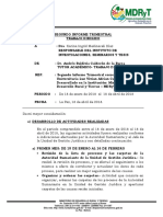 2do Informe Trimestral Dr. Baldivia Calderón de La Barca