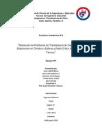 transferencia de calor en estado estacionario (areas cilindricas)