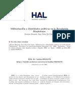 Militarización e identidades políticas en la Revolución Rioplatense