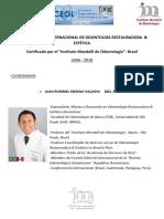 3er Diplomado o. Rest & Estética 4