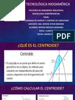 Exposicion Teorema de Pappus Byronparedes