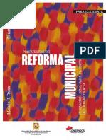 Libro Reforma Municipal - Rojas y Sabogal