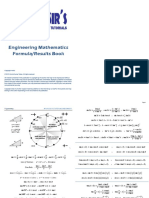 Arvind Sir Tutorials - Maths Formula Book 22 April 2018