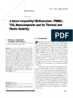 A Novel Polymethyl Methacrylate (PMMA).