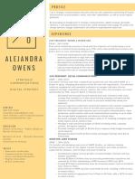 Alejandra Owens Resume 2018