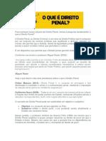 Direito Penal - Resumão