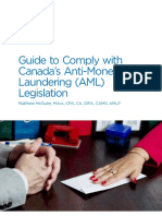 Guide to Comply With Canadas Anti-Money Laundering Legislation (1)