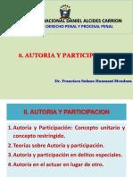 II. Autoría y Participación. (2)