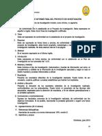 2.- Esquema Informe Final Anexo j 1