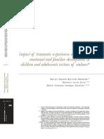 Impacto de Experiencias Traumaticas Sobre El Desarrollo Cognitivo