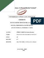 Adultez Temprana, Intermedia y Tardia