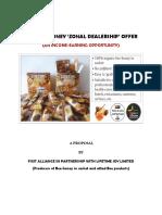 LIFETIME Honey Remote Zonal Dealership Offer