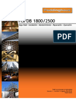 HSFDB 1800-2500 Instruction Manual V1 R3 - Spanish