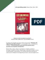 PRESENTACIÓN DE UTURUNCOS. EL ORIGEN DE LA GUERRILLA PERONISTA.pdf