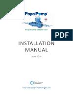 Installation Manual - June 2016