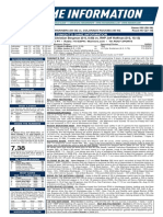 07.13.18 Game Notes