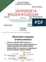 Aplicaciones de La Biología Molecular