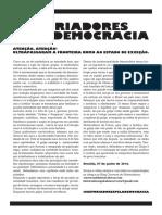 Manifesto Historiadores Pela Democracia 07-06-2016