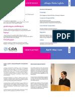 სიდას კვარტალური ბიულეტენი_CiDA Quarterly Newsletter_2018