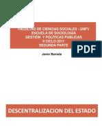 Gestion y Politicas Publicas Segunda Parte Octubre 2017
