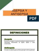 Asepsia y Antisepsia Medico Qx