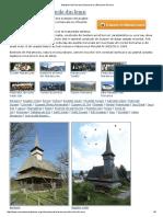 Manastiri Din Romania _ Maramures _ Bisericile Din Lemn