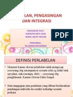 Pelabelan an Dan Integrasi