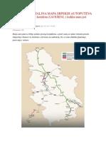 NAJNOVIJA DETALJNA MAPA SRPSKIH AUTOPUTEVA Evo koji su delovi koridora ZAVRŠENI.docx