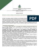 Edital Uncisal 001 2014 Concurso Docentes Retificacao 003 de 07 10 14
