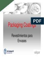 Packaging Coatings - Cans
