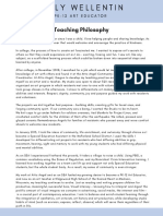 website ehs teaching statement