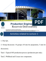 Lecture 1 Reservoir Deliverability (1)