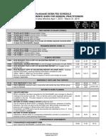BCMA Fee Schedule Gp